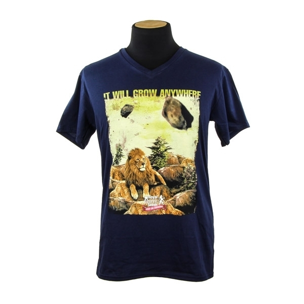 Royal Queen Seeds tričko LEV