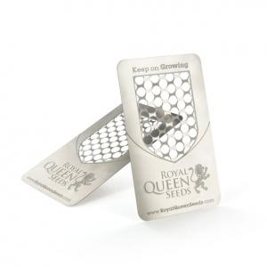 Kartová drtička s logem RQS