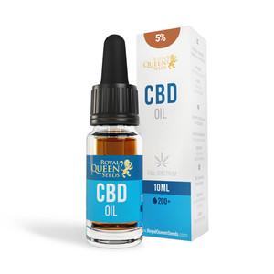 CBD Olej 5% (500mg)