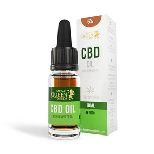 CBD Olej Z Konopných Semínek 5% (500mg)