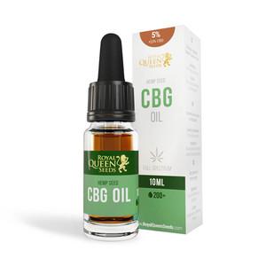 5% CBG a 2,5% CBD Olej