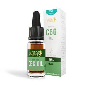 2,5% CBG a 2,5% CBD Olej