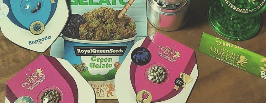 Konopná semínka a reklamní produkty zdarma
